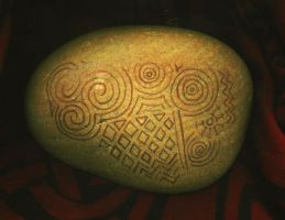 Decorated Stone by Siobhan68