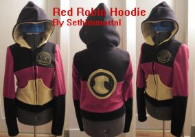 Red Robin Hoodie copy by SethImmortal