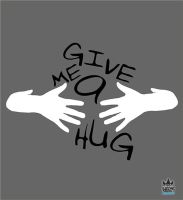 Give Me A Hug design by cosmicsoda