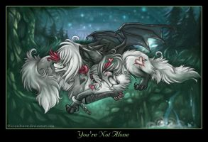 You're Not Alone by IceandSnow