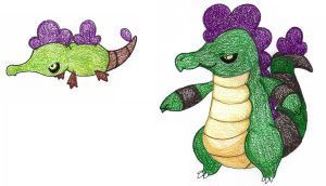 alligators ADOPTED by FrozenFeather