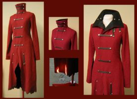 Red Coat - WIP by nolwen