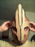 The mask/crown for the villainous of the story by KnightofLight84