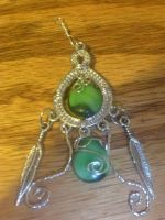 earth pendant by Wolf-Lady-bsparks85