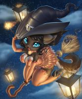 Kitty Witch by Zoy