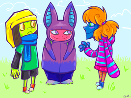 Some kids by torithefox