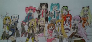 vocaloid girls by Evil-Alice8