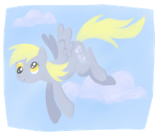 Derpy Hooves' Flight by brentsienna