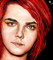 Gerard Way by christine-gentry