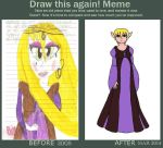 Diana pregnancy outfit-draw this again by SHANNON-CASSUL-LOVER
