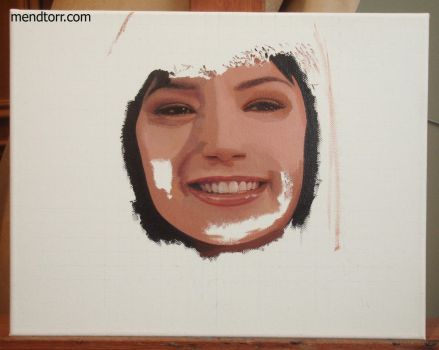 process of small oil painting by Mendtorr