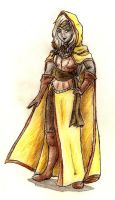 Viconia in yellow by Deorwyn