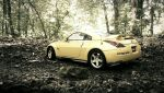 Nissan 350Z Nismo AutoArt in forest by Nexert