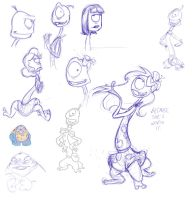 Pleakley sketches by SWING-21