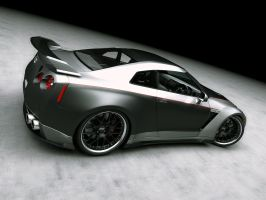 Nissan GTR Tuned 4 by LucianP