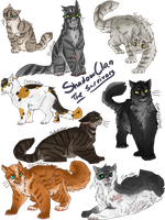 ShadowClan - The Survivors by spookyheart