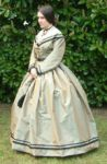 1861 Silk Day Dress by SerenaScarlet