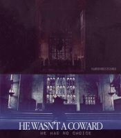 He isn't a coward by MarySeverus