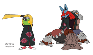 Akatsuki Pokemon 1 by Mortdres
