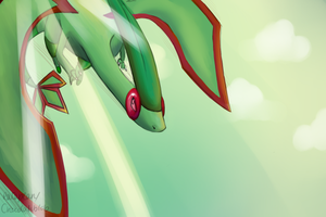 Flygon Background by Chocolateblob