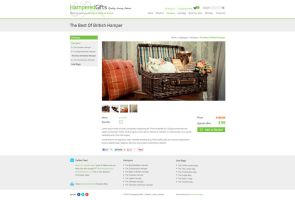 Hampered Gifts - Product Page by LukeKirkwood