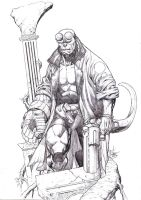 Hellboy by godmercys