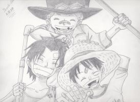 Brothers forever by Shiroichi-chan
