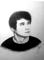 Dan Howell by tomofrommars