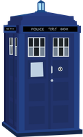 TARDIS by sircinnamon