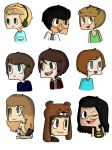 My favourite youtubers :3 by DxCismylife