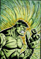 Hulk Illusration by Twinkie5000