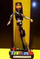 Blackfire custom maquette by TeenTitans4Evr