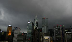 HK in grey by Anantaphoto