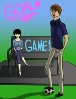 GOAL: GAME 1 Chapter cover by vynn-beverly