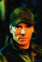 Richard Dean Anderson as ONeill - Stargate SG-1 by paulnery