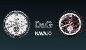 D and G Navajo clocks by rodfdez