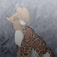 Azubah in the Rain by lilwyverngirl