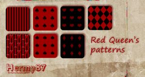 Red Queen's patterns by Hermy87