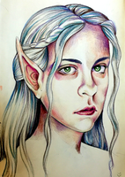 S(elf) Portrait by Ghoulsnap