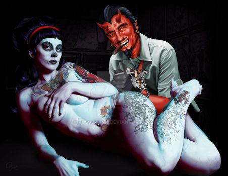 Coop Devil Tattooing by russellink