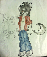 Kenneth the fennec fox by Rakeo