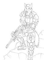 Future War commission WIP by 7THeaven