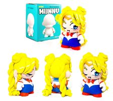 Custom Sailor Moon Munny by cari