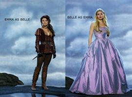 Emma and Belle (MANIP) by xLexieRusso2