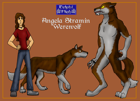 Angie Stramin by IchikoWindGryphon