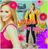 SPRING COME BACK-HILARY DUFF by whoisthatgirl