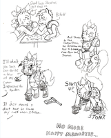 Fallout Ponies-Raider and Kid10 by Demon-Keychain