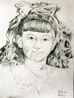 Portrait of a little girl by Jag-san