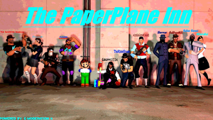 The PaperPlane Inn Group Photo by Gaughwwe12