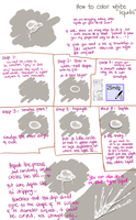 How to draw White Liquid by Hews-HacK